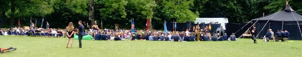 Versammlung der Pfadfinder