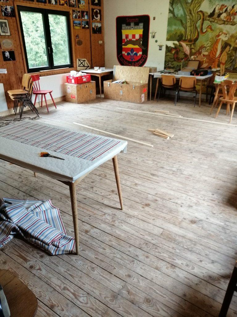 Schwedenstuhltag Arbeitsraum
